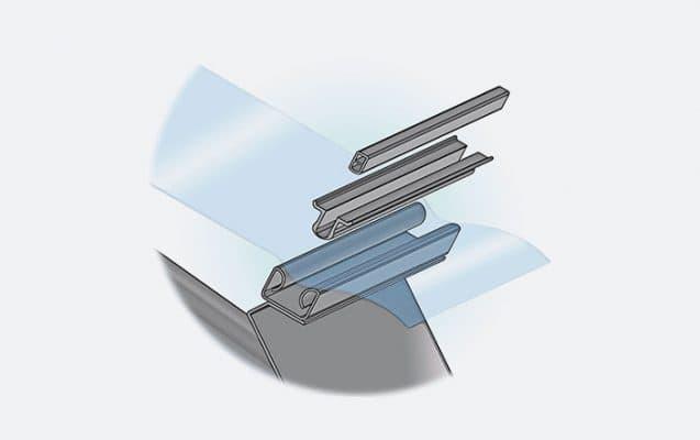 clip fixation plastique serre tunnel